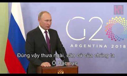 Tổng thống Putin tra lời phóng viên một cách thật bá đạo