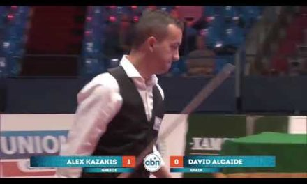 David Alcaide vs Alex Kazakis, Kremlin Cup 10 Ball 2017 FINALS