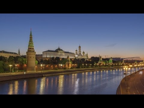 Moscow Kremlin and also Moscow River at Summer Sunrise|Stock Footage – Videohive