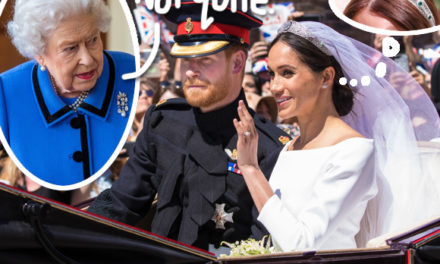 Was Meghan Markle DENIED The Wedding Tiara She Wanted By Queen Elizabeth ?! – Perez Hilton