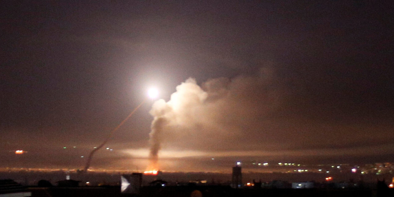Israel Launches Airstrikes In Syria After Iranian Attacks