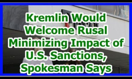 Today News – Kremlin Would Welcome Rusal Minimizing Impact of U.S. Sanctions, Spokesman Says