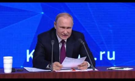 Vladimir Putin's yearly press conference Part 01