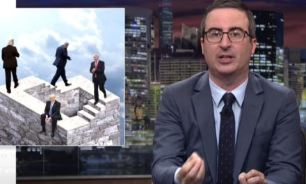 John Oliver Warns This Isn' t The Objective Of The Line For Trump