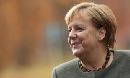 'I'm really appreciating this!' An even more kicked back Angela Merkel uncovers her voice