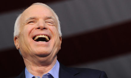 John McCain Offers Sassy Response When Asked If He  would certainly Support Rex Tillerson
