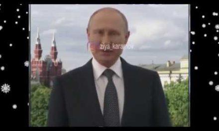 Putin Şekilileri yeni il bayramı munasibetile tebrik etdi