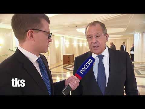 Sergey Lavrov's Interview with Moscow Kremlin Putin Show