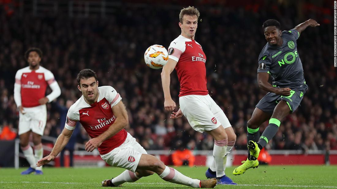 Arsenal and also Chelsea amongst groups to proceed to Europa League knockout round