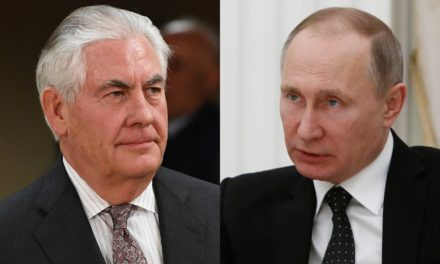 Putin meets Tillerson in Russia as Syria break grows