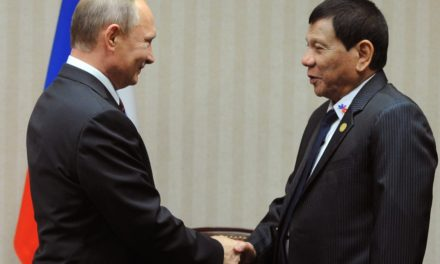 Philippines' Duterte appears to enhance connections with trip to Moscow