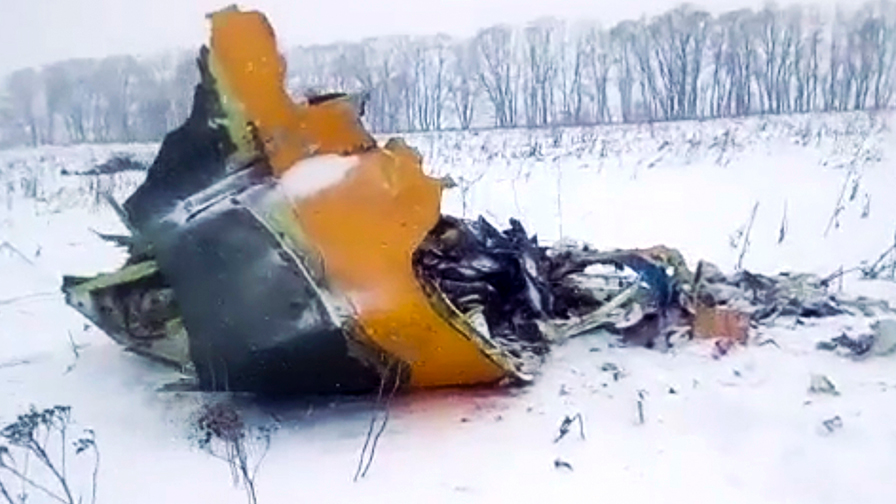Russian airplane collision exterior Moscow leaves 71 dead