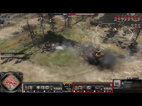 Company of Heroes 2 ทัวร์รุ่นเล็ก Putin vs Strawberry cake