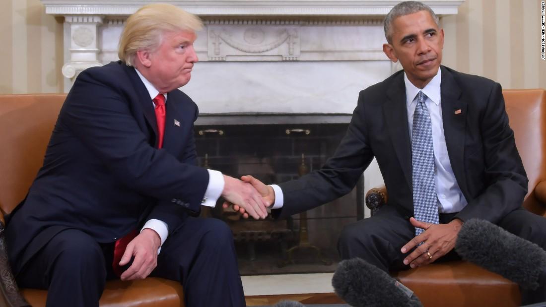 With newest stab, Trump-Obamapartnership gets to historical spitefulness