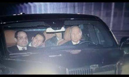 Putin ve Sisi, Rusya' nın yeni yerli aracı Aurus ile So çi' de tur attı