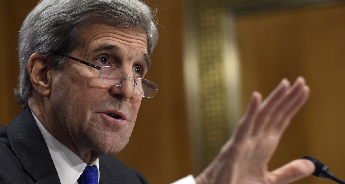John Kerry claims dividing of Syria can be component of' fallback' if peace negotiation stop working