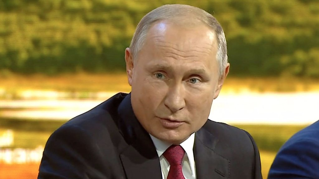 Putin: Skripal suspects are not offenders