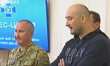 'Murdered' Russian reporter Arkady Babchenko shows up active