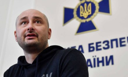 Arkady Babchenko states he fabricated his very own fatality with pigs' blood as well as a make-up musician