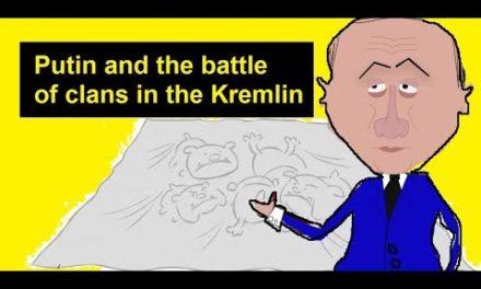 Putin and also the fight of clans in theKremlin Zapolskiy Cartoon President