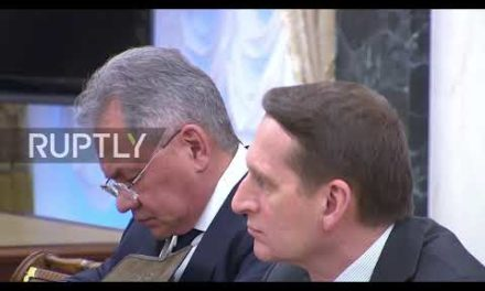 Russia: Putin holds Security Council conference over upcoming United States withdrawal from INF Treaty