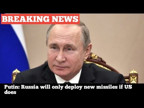 DAMAGING!!Putin: Russia will just release brand-new projectiles if United States does