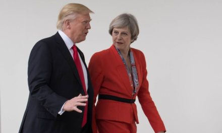 May and also Trump consented to approve press Russia over Syrian situation – BBC News