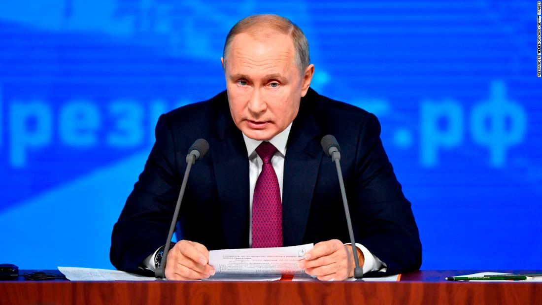 Putin cautions anent threats anent a brand new central weapon accelerate