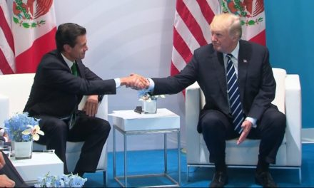 Sitting together with Pena Nieto, Trump claims he 'definitely' still desires Mexico to spend for wall surface