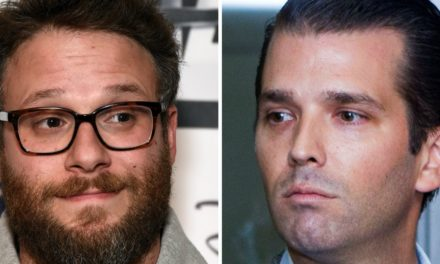 Seth Rogen Tries To Convince TrumpJr To Aim His Dad's Presidency