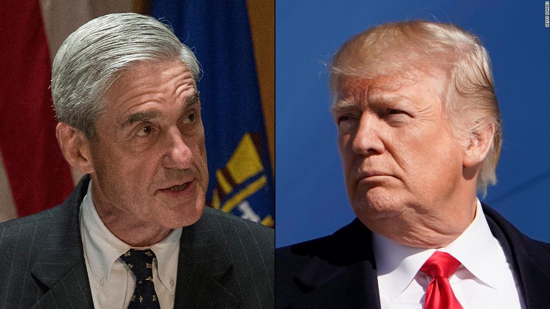 Trump rails versus Mueller in Sunday tweetstorm