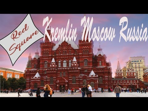 Afternoon stroll in Kremlin Moscow|Red Square|Russia