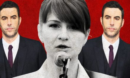 Between Maria Butina and also Sacha Baron Cohen, Conservative Appear Like the Worlds Biggest Sucker
