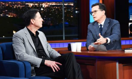 Stephen Colbert Confronts Comey Over Throwing Election to Trump