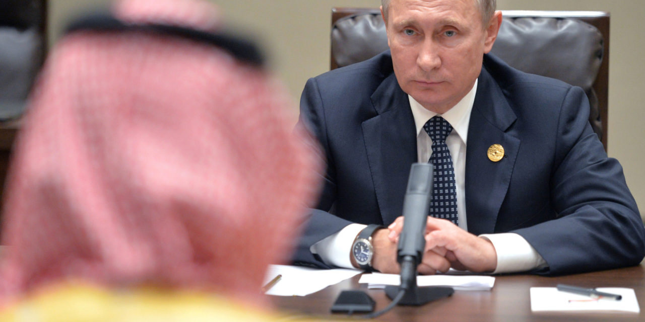 Saudi, Russia Vow Oil Cooperation Without Agreeing to Freeze