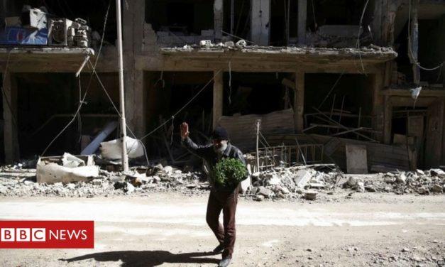 UK summons Russian ambassador over Syria