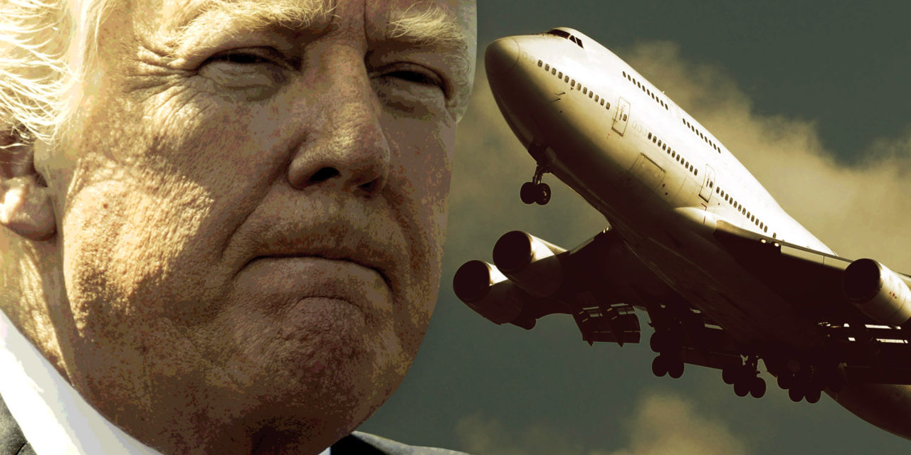 Trump Revealed Intel on the Most Serious Plot Against U.S. Airplanes Since 9/11