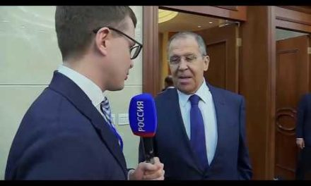Lavrov ' s Interview for Moscow, Kremlin, Putin Show