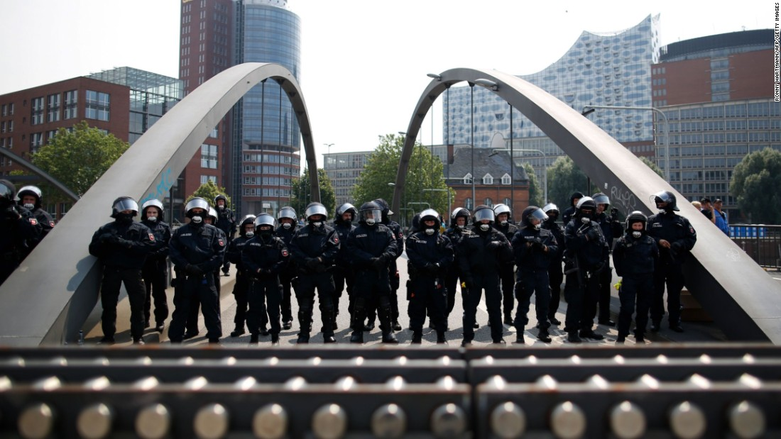 Hamburg to hold totally free performance to give thanks to G20law enforcement agent