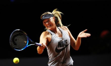 Maria Sharapova wins in return after doping forbid