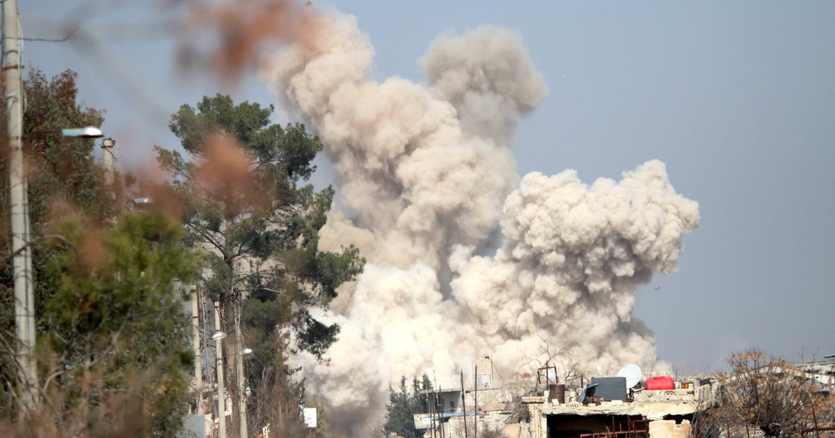 Intense Battles Rage In Syria Hours Before Truce