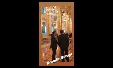 Cumhurba şkanı Erdo ğan ' ın Rusya ziyaretinde Kremlin Saray ı ' nda neler oldu?