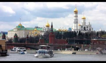 Russia.Moscow View of the Kremlin wall surface. Boat journeys onMoscow Excursions in Moscow