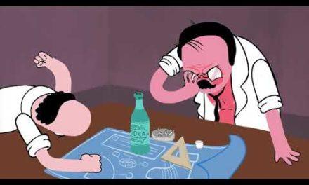 animação sobre o Vladimir putin