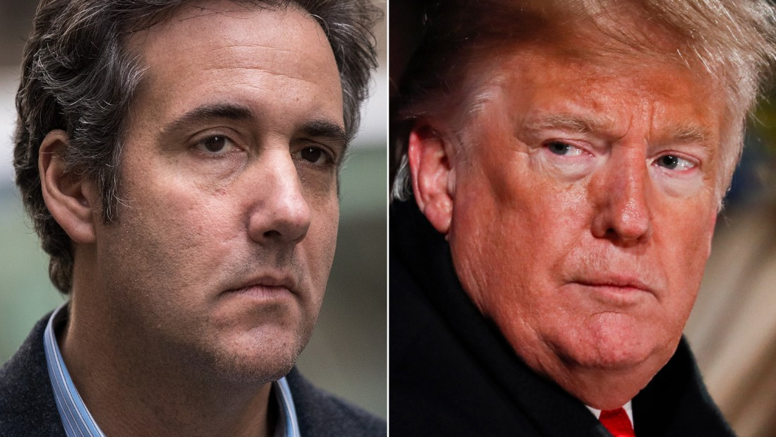 Michael Cohen's attorneys request for no jail time for their customer in punishing memorandum
