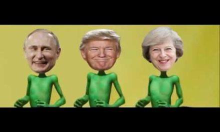 Trump, Putin, Theresa May & & others dance Kupe