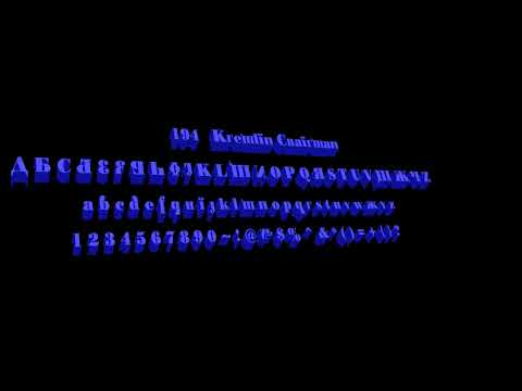 194 KREMLIN CHAIRMAN