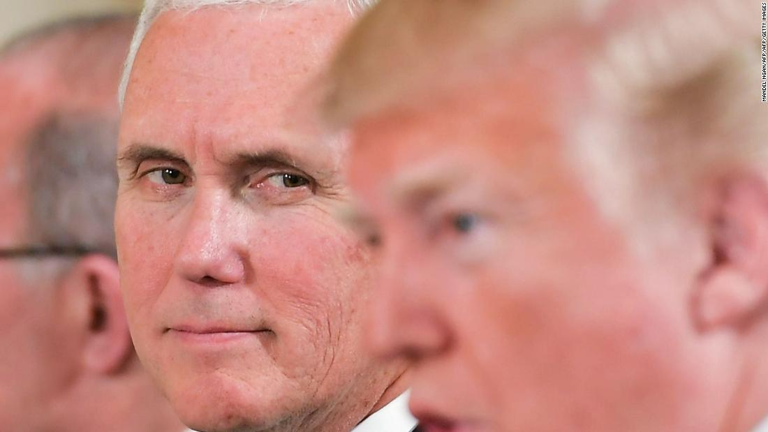 With Trump in situation, Pence waits in his darknes