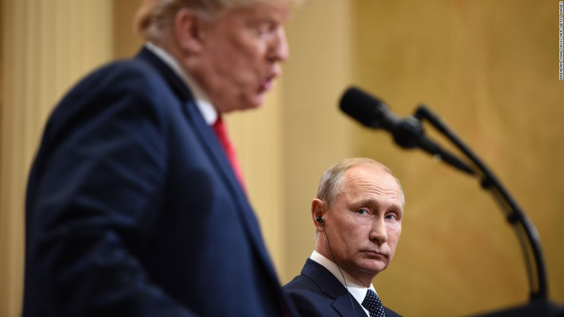 Trump and also Putin: the images inform the tale