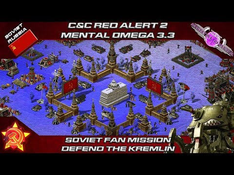 PSYCHOLOGICAL OMEGA 3.3.4 – Soviet Fan Mission, DEFEND THE KREMLIN [Red Alert 2]